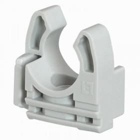 Lyre grise pour tube IRL Ø20mm - Emballage 100 - LEGRAND 031361 LEGRAND