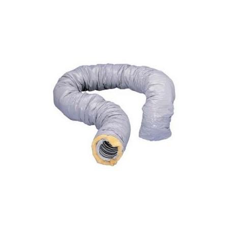 Gaine PVC souple Ø 80 mm calorifugée T 82 CR - Longueur 6m ATLANTIC