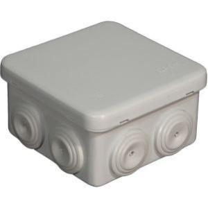 Boite de dérivation Eur'ohm - 80x80x45mm - IP55 EUR'OHM