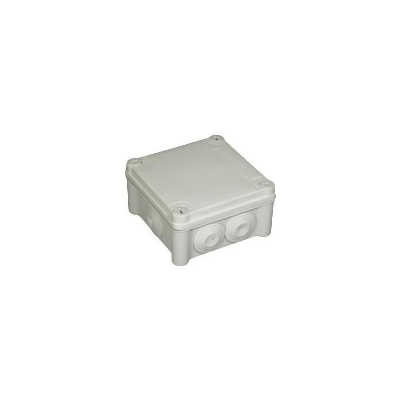 Boite de dérivation Eur'ohm - 105x105x55mm - IP55 EUR'OHM