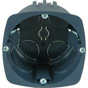 Boîte d'encastrement Eur'ohm - XL Ultra - Lot de 300 - 1 poste - Ø67mm - prof. 40 mm + scie cloche EUR'OHM