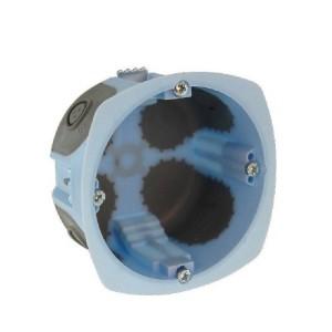 Boîte d'encastrement Eur'ohm - Air'métic - 1 poste - Ø67mm - prof. 40 mm EUR'OHM