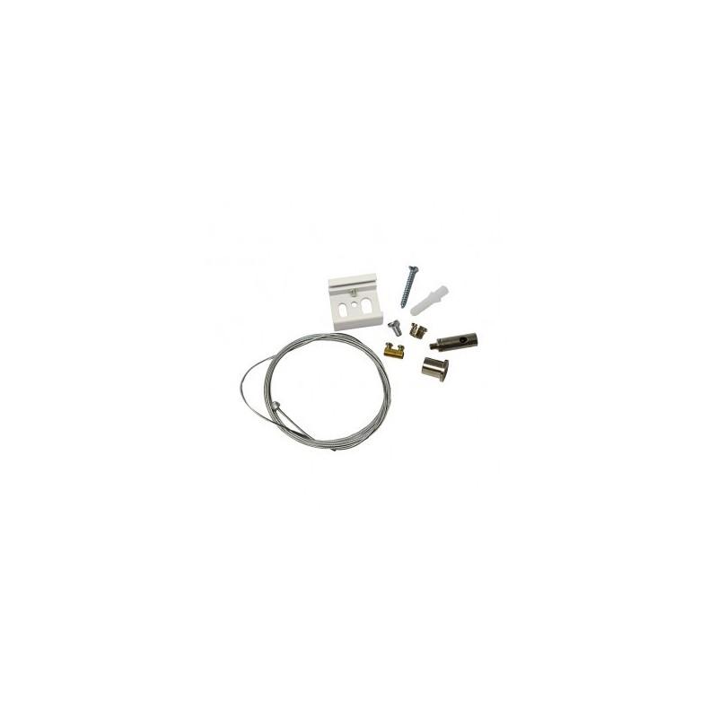 Kit de suspension pour rail blanc 2M VISION EL