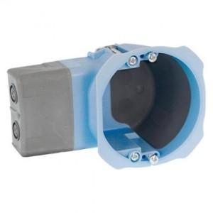 Boite d'encastrement Eur'ohm - Air'métic - 1 poste - Ø67mm - prof. 40 mm - pour micromodules EUR'OHM