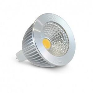 Ampoule LED GU5.3 Spot 6W Dimmable 4000°K - Aluminium VISION EL