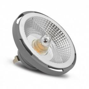 Ampoule LED QR G53 AR111 15W 3000°K - Gris VISION EL