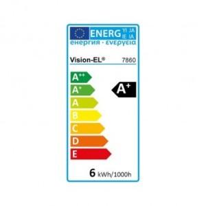 Ampoule LED GU10 spot 6W dimmable 3000°K VISION EL