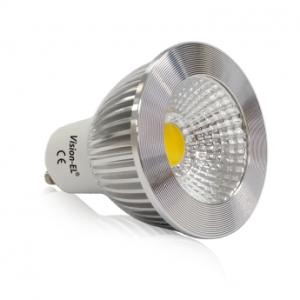 Ampoule LED GU10 COB 6W dimmable 6000°K VISION EL