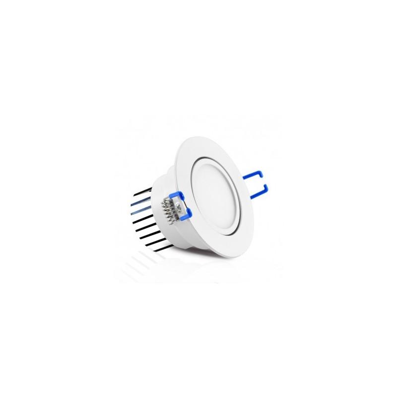 Spot LED orientable 7W 4000°K avec alimentation électronique VISION EL