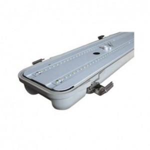 Boîtier étanche LED intégrées 80W 4000°K - 1565x108x80mm VISION EL
