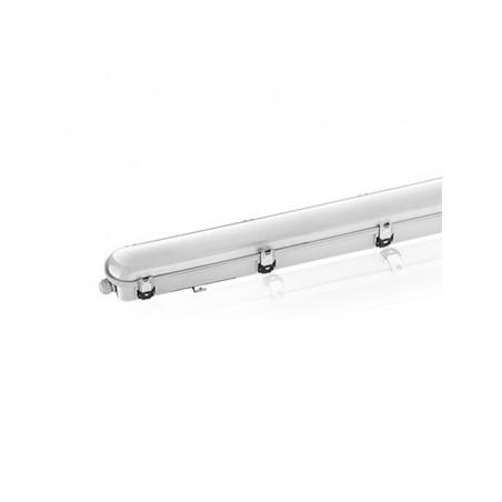 Boîtier étanche LED intégrées traversant 55W 4000°K - 1560x100x83mm VISION EL