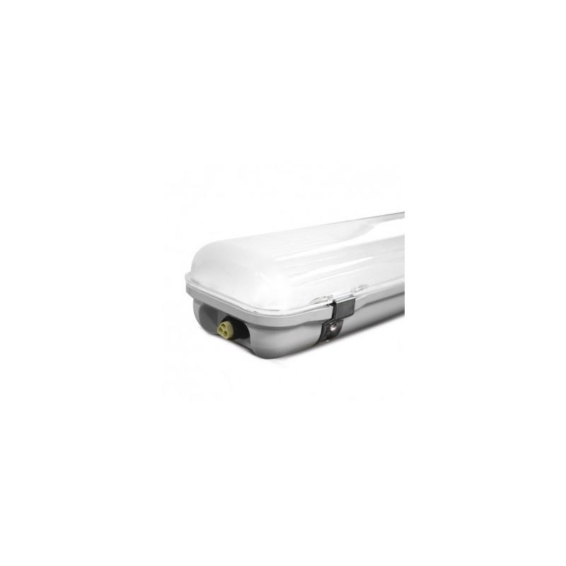 Boîtier étanche LED intégrées traversant 48W 4000°K - 1270x140x92mm VISION EL