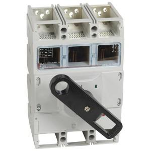 Interrupteur-sectionneur DPX-IS1600 - 3P - 800A - à déclenchement avec commande frontale LEGRAND