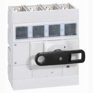 Interrupteur-sectionneur DPX-IS1600 - 4P - 800A - à déclenchement avec commande frontale LEGRAND