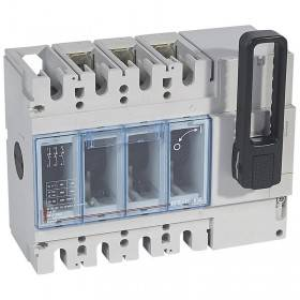 Interrupteur-sectionneur DPX-IS630 - 3P - 630A - sans déclenchement avec commande frontale LEGRAND