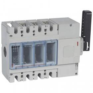 Interrupteur-sectionneur DPX-IS630 - 3P - 400A - à déclenchement avec commande latérale droite LEGRAND