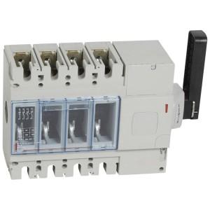 Interrupteur-sectionneur DPX-IS630 - 4P - 400A - à déclenchement avec commande latérale droite LEGRAND