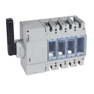 Interrupteur-sectionneur DPX-IS630 - 3P - 630A - à déclenchement avec commande latérale gauche LEGRAND