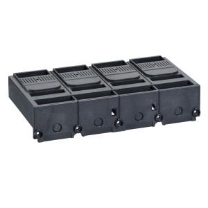 Cache-borne court pour disjoncteur ou socle - 45mm - 4P - Compact NSX400-630 SCHNEIDER