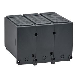 Cache-borne court pour disjoncteur ou socle - 45mm - 3P - Compact NSX400-630 SCHNEIDER