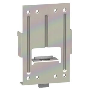 Platine d'adaptation sur rail DIN - pour disjoncteur NSX100-250 SCHNEIDER
