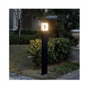 Potelet rectangulaire LED 12W 4000°K diffuseur carré - 1m VISION EL