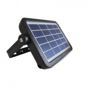 Projecteur extérieur LED solaire - 5W 4000°K - Noir VISION EL