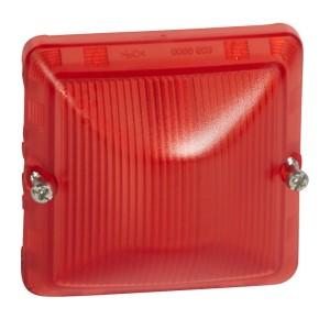 Diffuseur pour lampe rouge PLEXO composable - étanche IP55 LEGRAND