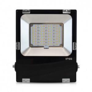 Projecteur extérieur LED 30W RGB+blanc - Noir VISION EL