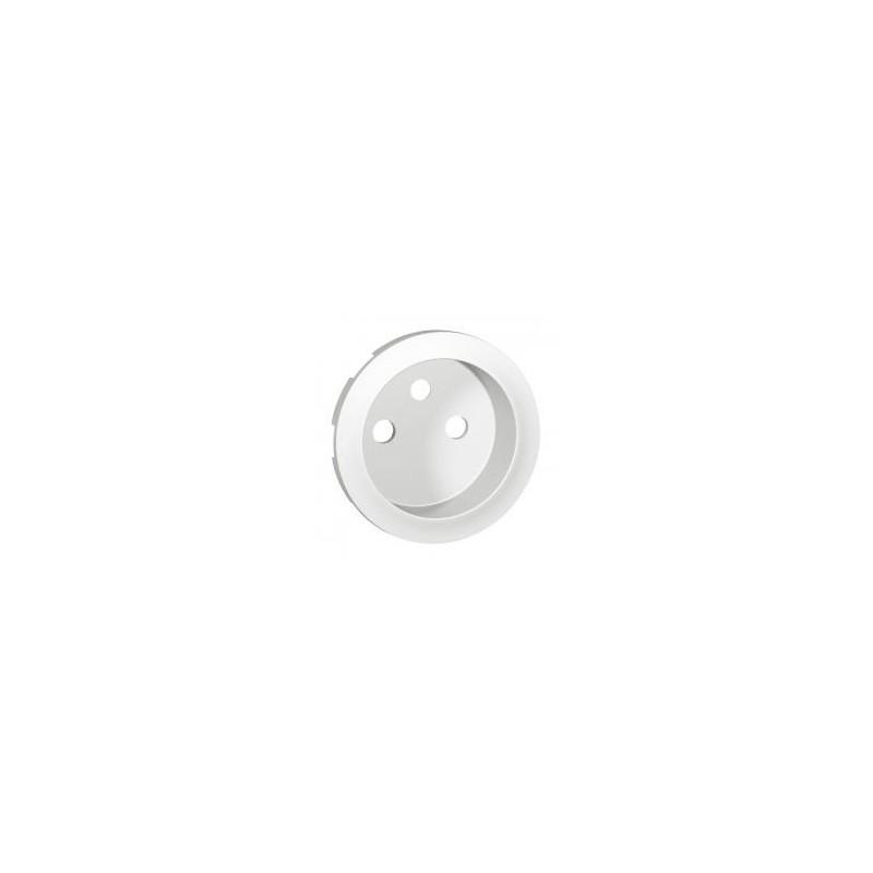 Enjoliveur Céliane pour prise de courant 2P+T à puits - Blanc LEGRAND