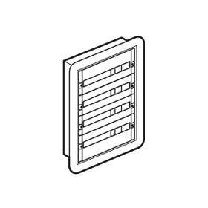 Coffret distribution XL³160 tout modulaire 4 rangées - 96 modules - encastré LEGRAND