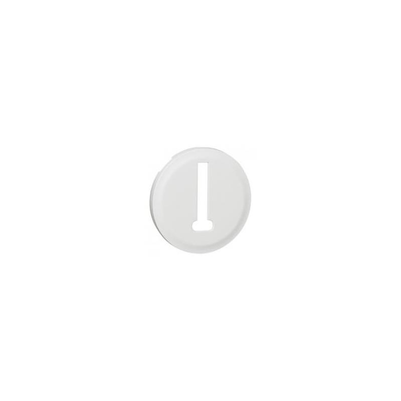 Enjoliveur Céliane pour prise téléphone 8 contacts - Blanc LEGRAND