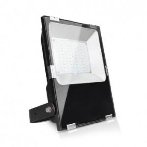 Projecteur extérieur LED 100W RGB + blanc - Noir VISION EL