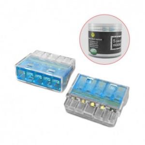 Connecteur rapide 5 fils rigides - Boite de 50 unités VISION EL