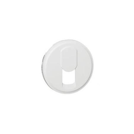 Enjoliveur Céliane pour prise téléphone pour réseau mixte et basique - Blanc LEGRAND