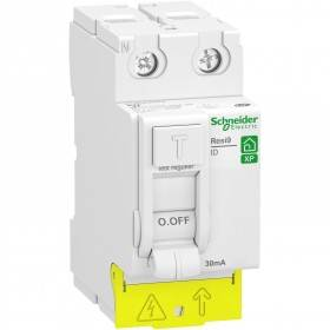 Interrupteur différentiel 63A 2P - 30mA - Type AC - peignable - alim bas - Resi9 XP SCHNEIDER