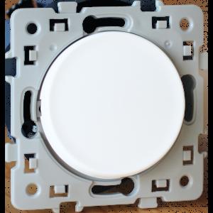 Interrupteur ou va-et-vient SQUARE 10AX - 250 V~ à bornes auto - Blanc EUR'OHM