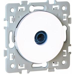 Prise TV simple SQUARE 1 poste - 250V - Blanc EUR'OHM