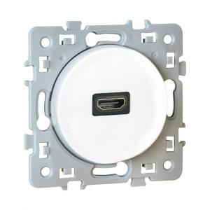 Prise HDMI 1.4 SQUARE - Blanc EUR'OHM