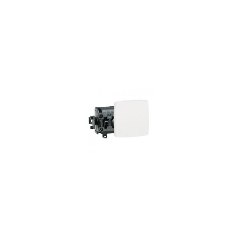 Poussoir appareillage saillie composable - 6 A - blanc LEGRAND