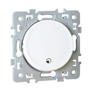 Interrupteur temporisé programmable SQUARE 1 poste - 230V - Blanc EUR'OHM