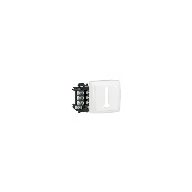 Prise téléphone 8 contacts appareillage saillie composable - blanc LEGRAND