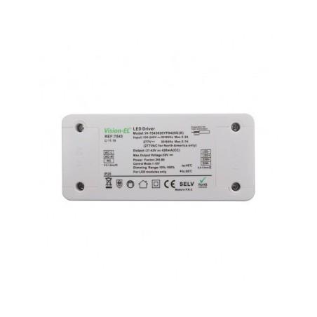 Alimentation pour LED 18W dimmable 0-10V VISION EL