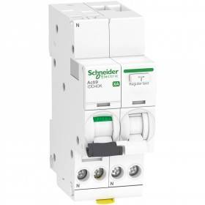 Disjoncteur différentiel Acti9 iDD40K XA auto - 1P+N - C - 16A - 4500A/4,5kA - 300mA - AC SCHNEIDER