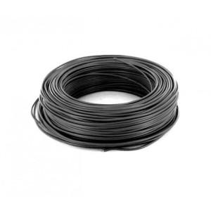 Fil HO7VU 1x2.5mm² Noir en couronne de 100ml NEXANS