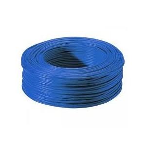 Fil HO7VR 1x6mm² Bleu en couronne de 100ml NEXANS