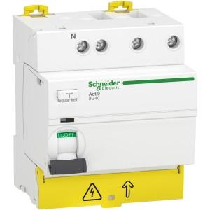 Interrupteur différentiel iIG40 tête de groupe - 3P+N - 40A - 30mA - type AC SCHNEIDER