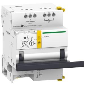 Automatisme de réarmement pour disjoncteur 1P 1P+N 2P 230VCA 50Hz - Acti9, ARA iC60 SCHNEIDER