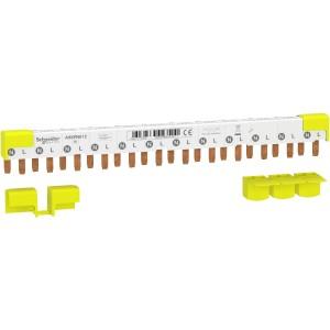 Peigne Acti9 iDT40 - 1P+N - 12 modules de 18mm - 80A SCHNEIDER