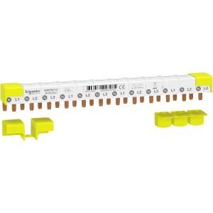 Peigne Acti9 iDT40 - 3P+N - 12 modules de 18mm - 80A SCHNEIDER